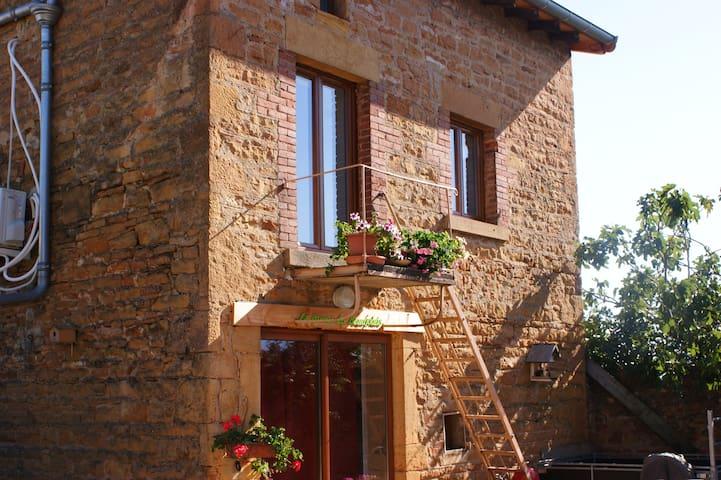 """""""La Quena du Beaujolais"""" - Maison d'hôtes - Liergues - Huis"""