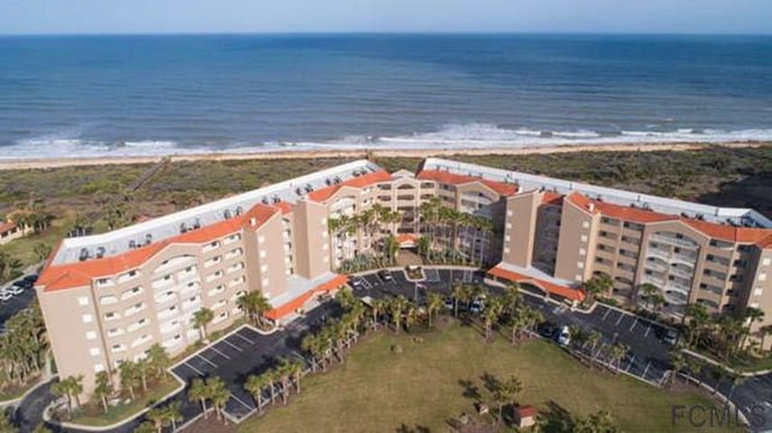 Oceanfront Condo, Palm Coast near St. Augustine.