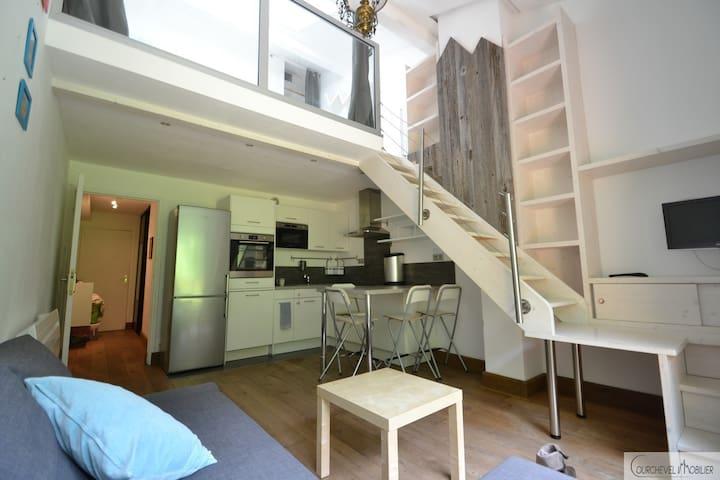Appartement 3 pièces en duplex - Saint-Bon-Tarentaise - Apartemen