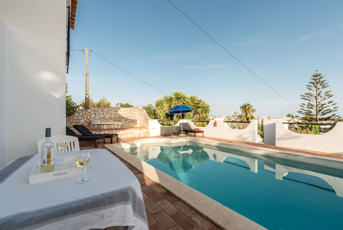 ... View From Secluded Pool Terrace Towards Montinhos Da Luz Bay