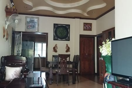 Nana House private bedrooms near Prasat Phnom Rung