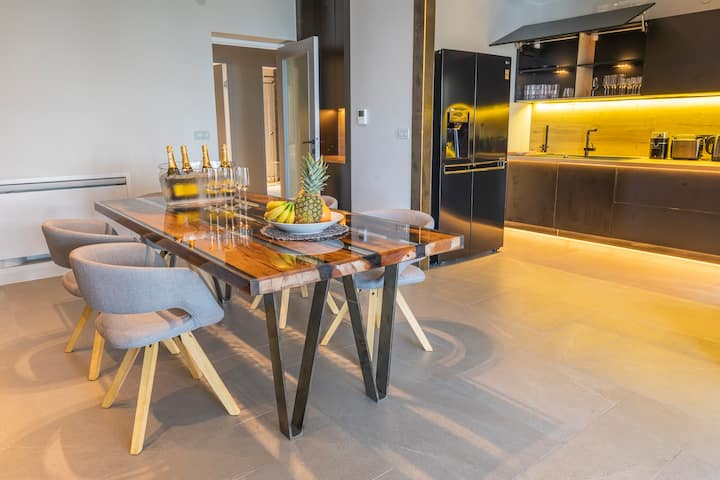 Designer Villa with luxury pools and garden