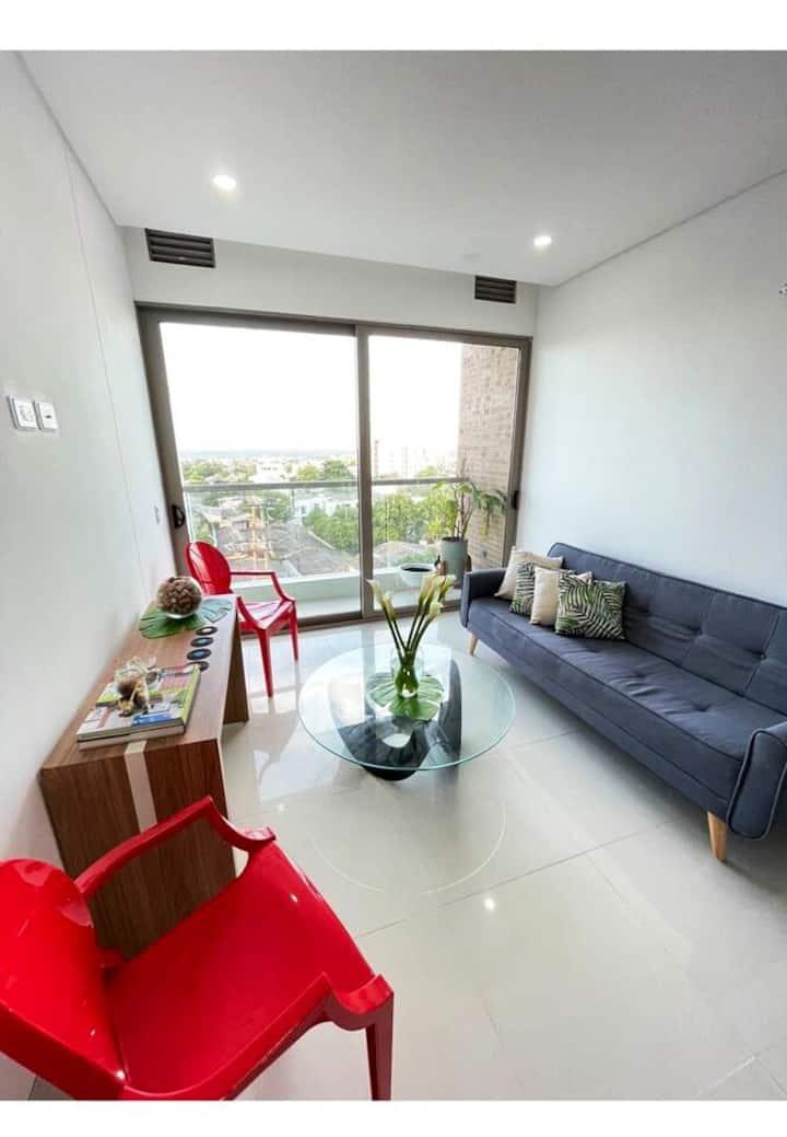 Apartamento con vista, mejor zona de Barranquilla