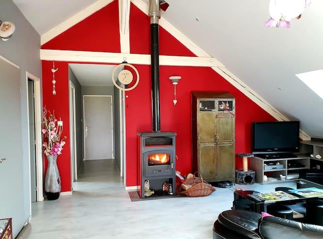 Appartement dans une ferme