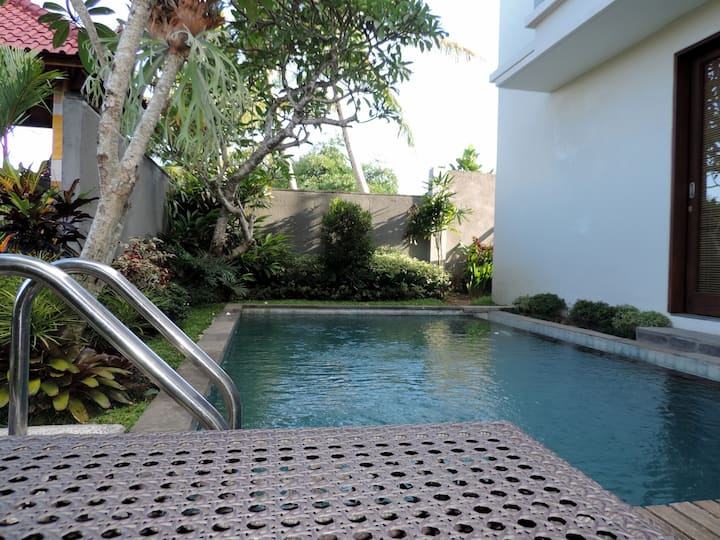 Duana-Room With Pool and Breakfast in Ubud Center