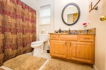 Private Bathroom - We only book one party at a time
