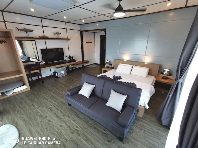 Seaview VIP Room Mabul Paradise Lodge
