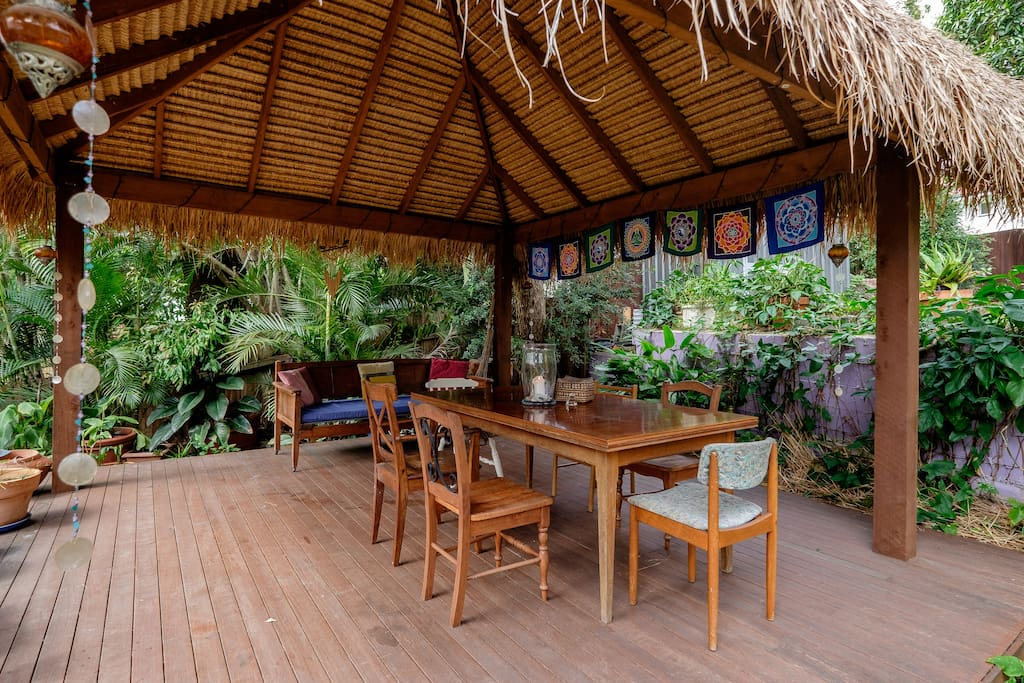 Relax after your day on our Bali deck.