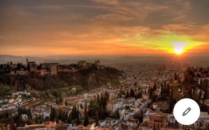 Sierra Nevada: Esquí y paseo por Granada
