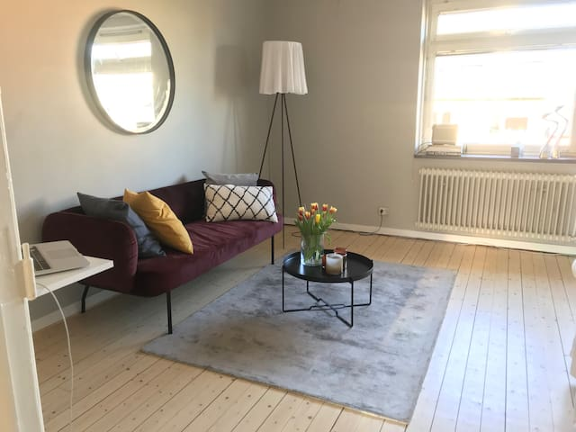 Mysig lägenhet (1:a) nära city!
