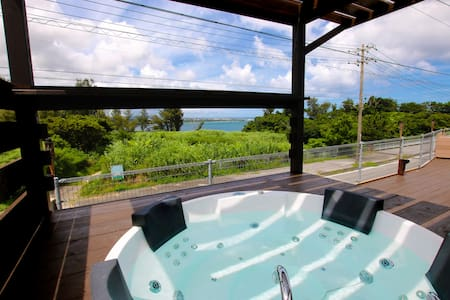 NEW★Jacuzzi Ocean view★BBQ★3BR/2bathroom