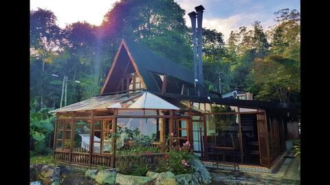 Villa Aurora - Cabaña en las montañas - Dapa Valle