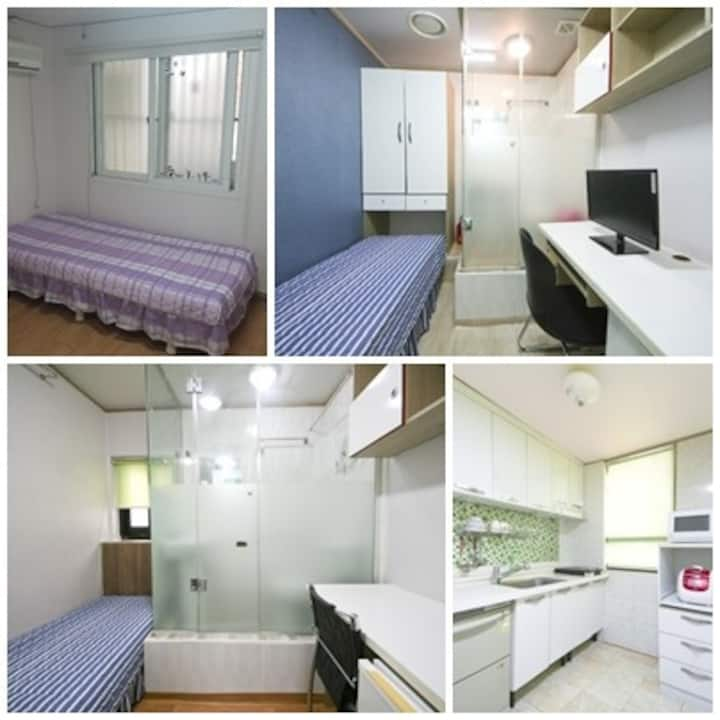 Herbhouse (5min for Sinchon Station) 2nd room