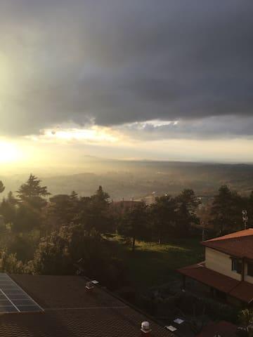 Attico panoramico signorile - Palestrina - Apartament
