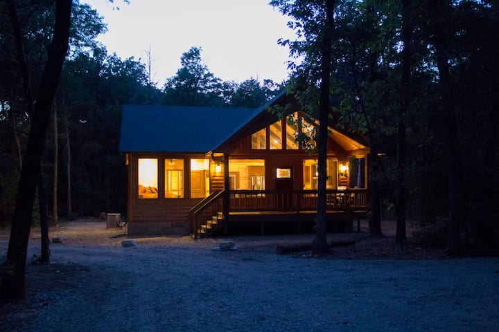Treasured Times-New Luxury Log Cabin