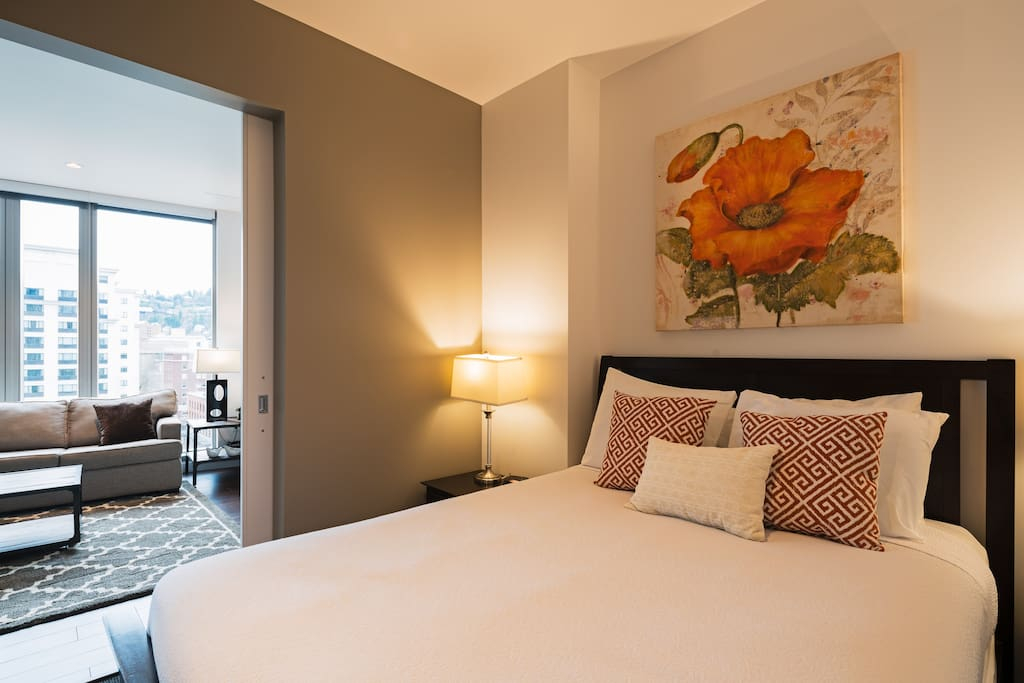 Second Bedroom at Park Avenue west by Stay Alfred