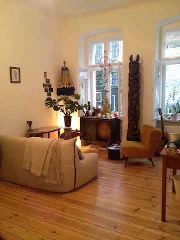 Hidden treasure of Sonnenallee room+garden