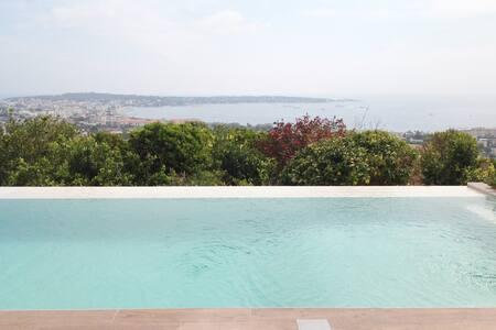 Villa vue mer panoramique