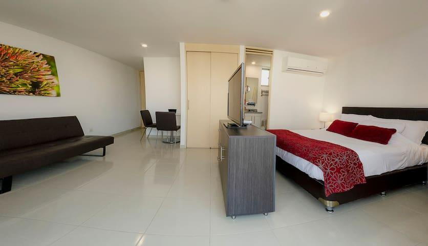 Confortable y tranquila Aparta Suite, excelente!!