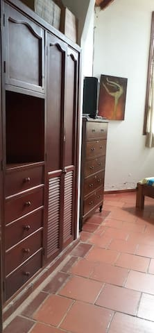Entrada a habitacion 1, principal con cama doble