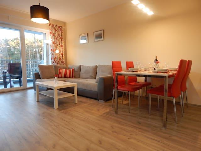 Apartament Malinowy Pogorzelica - Pogorzelica - Appartamento con trattamento alberghiero