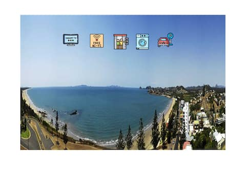 #Yeppoon Oshens  1 Bed Apartment with Ocean views
