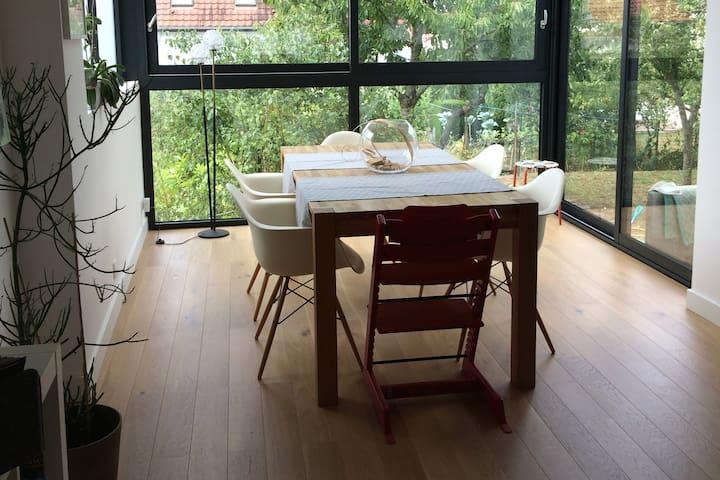 Maison au calme, proche Centre Pompidou et gare - Metz - Casa