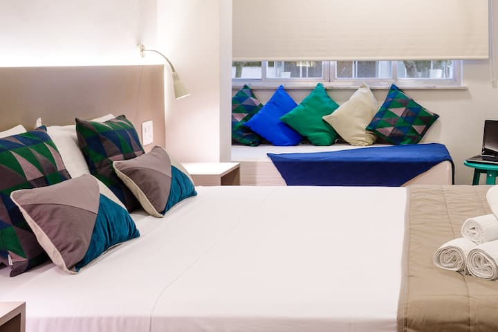 Loft AP4 | Ipanema - by Injoy (Short & Long stay)
