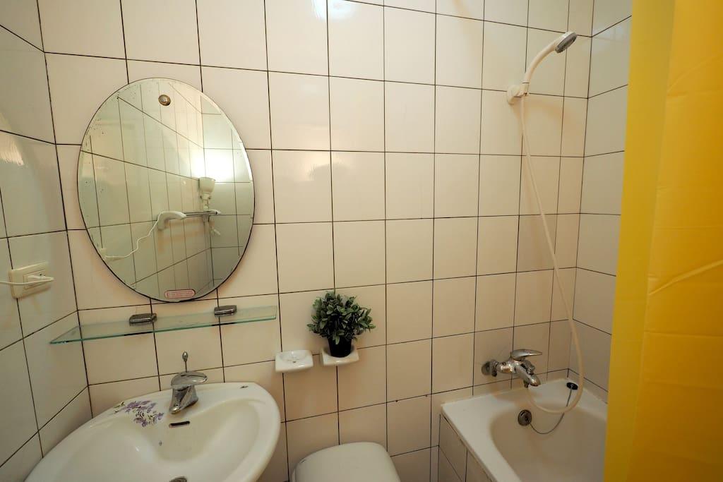 浴室乾淨清爽