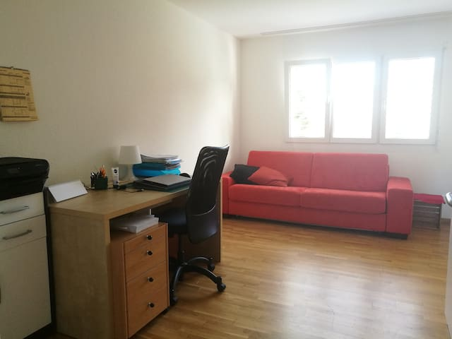 Cozy room near green areas, airport 20 min. - Embrach - Apartment