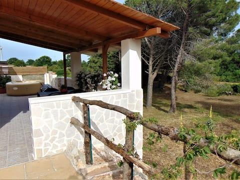Terrazza sulla pineta - Relax in idromassaggio