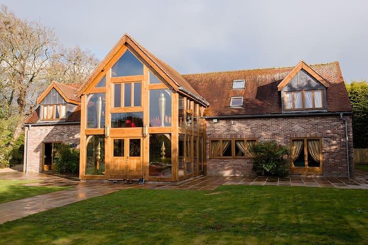 The Crazy Bear Garden House