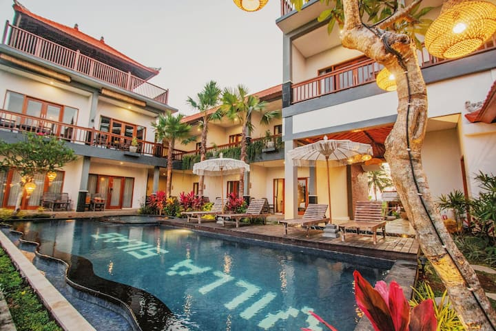 Gorgeous Designed Villa In Ubud With Infinity Pool