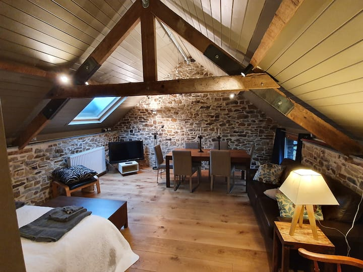 The Hayloft, a Contemporary space in a stone barn