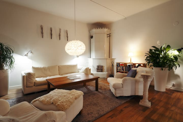 Old world luxury! Stylish loft in very center
