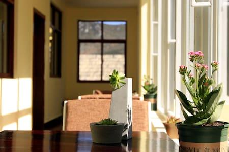 香格里拉喜悦精品客栈 古城中心温馨舒适的庭院式住宿标准间 - Deqen - Willa
