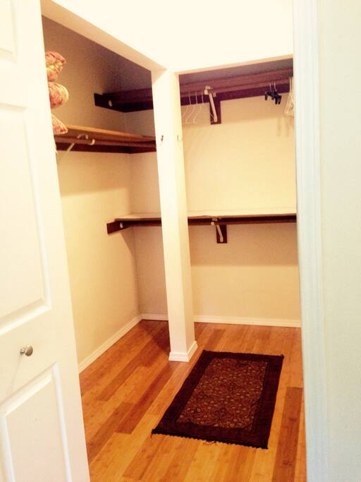 walk in closet of your bedroom