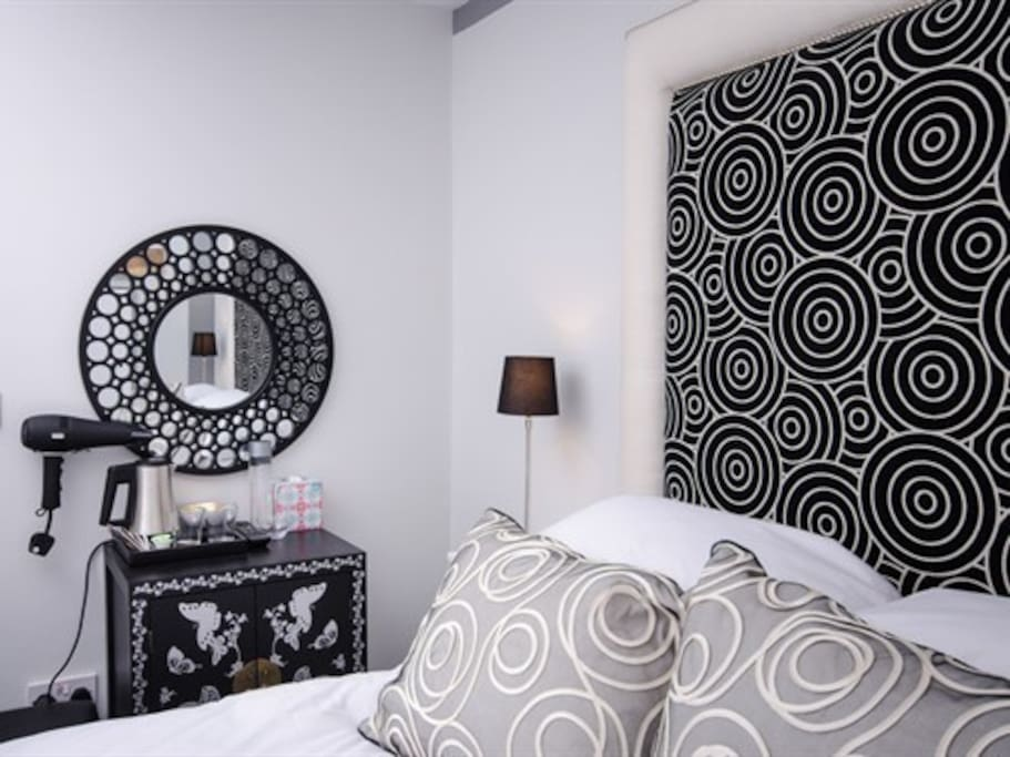 Every room is individually designed and furnished by Marilyn.