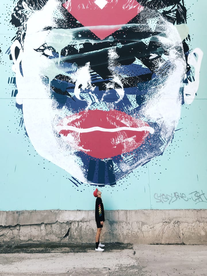 Discover a world street art capital.