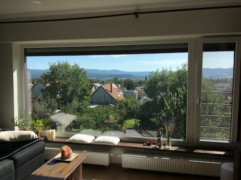 Accommodation close to the center with beautiful views