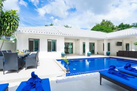 6 BR Chaweng Pool Villa | 5 Mins To Chaweng Beach