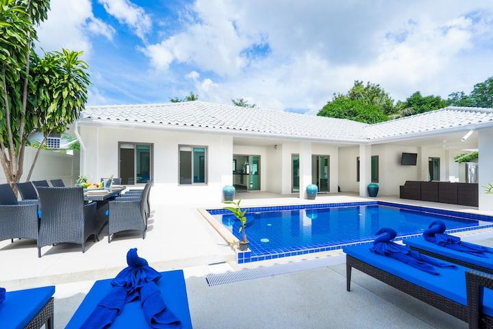 6 BR Chaweng Pool Villa   5 Mins To Chaweng Beach