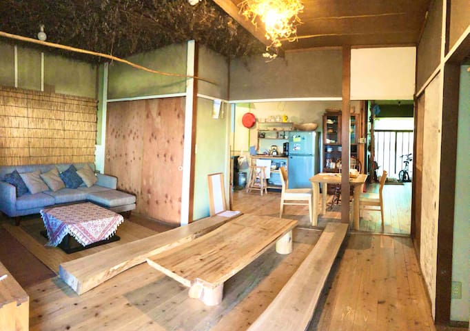 入田浜ビーチに近い一軒家 Renovation house close to Irita beach