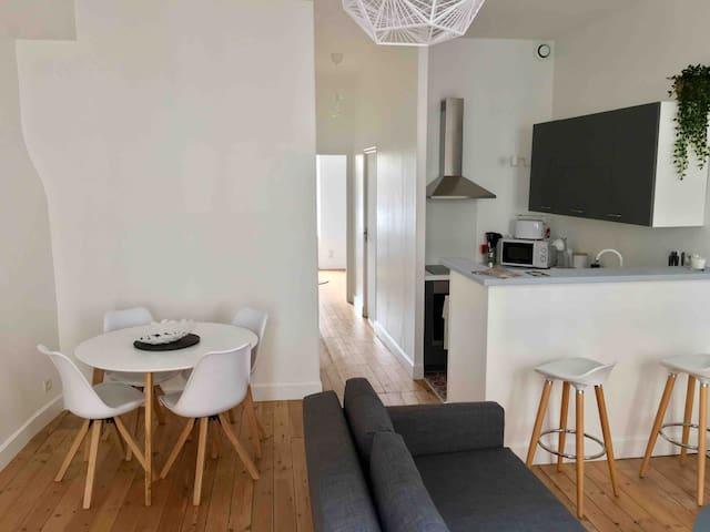 Joli appartement fraîchement rénové