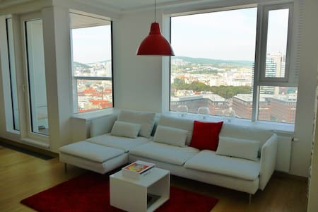 Awesome views, top location, modern and spacious. - Bratislava