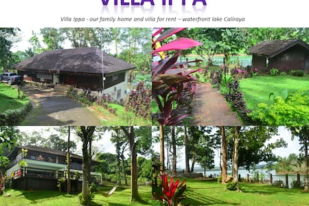Villa Ippa - waterfront lake Caliraya - Lumban