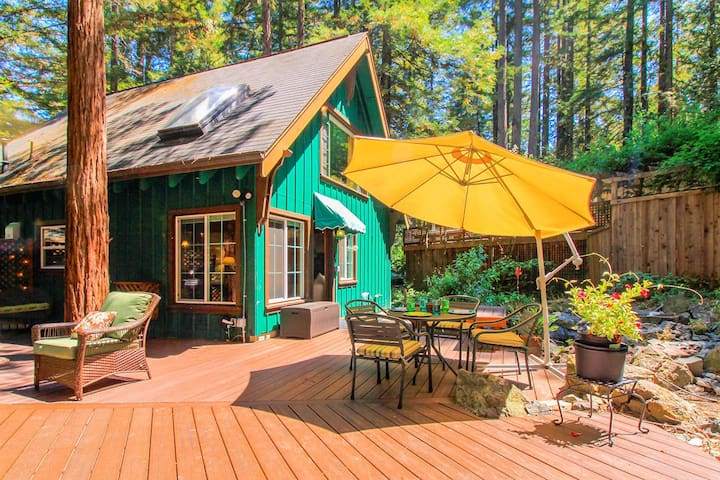 Fern Woods - Adorable Cabin Close to Guerneville!