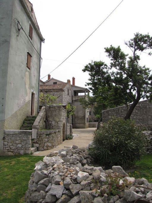 courtyard (house and surroundings)