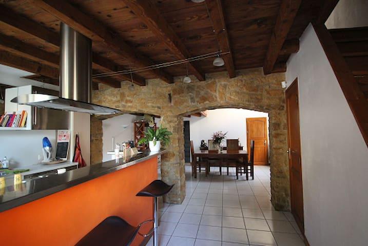 Maison de village au coeur du beaujolais - Anse