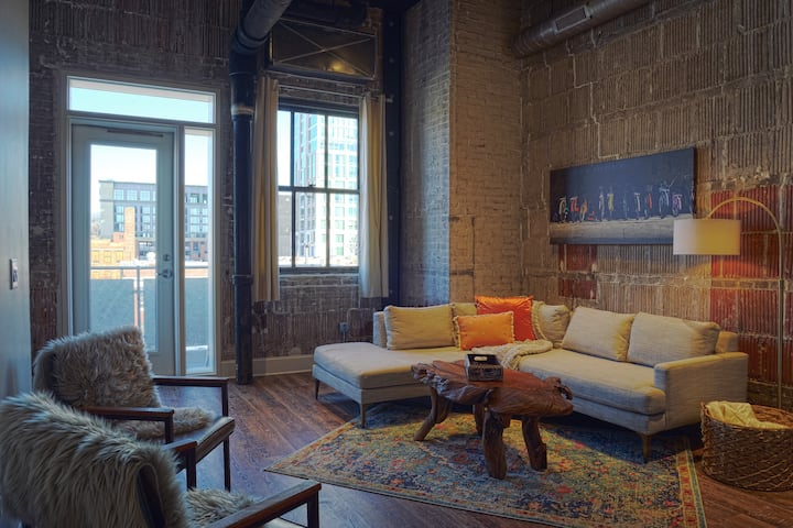Lofts at Woolworth in downtown Asheville NC! #208